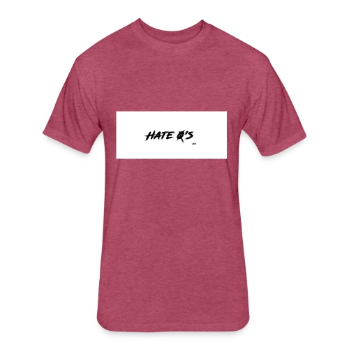 Hate0s - Fitted Cotton/Poly T-Shirt by Next Level