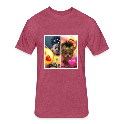 Faith Quinn - Fitted Cotton/Poly T-Shirt by Next Level