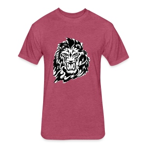 DP Branded-Lion - Fitted Cotton/Poly T-Shirt by Next Level