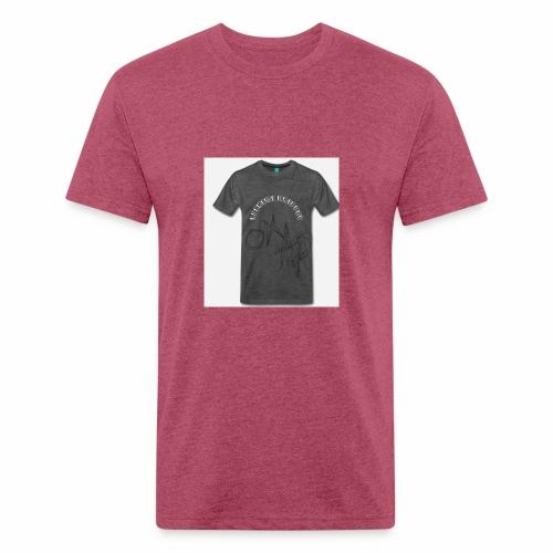 E4D92272 6250 4AC0 8D0E 0DA874B98B37 - Fitted Cotton/Poly T-Shirt by Next Level