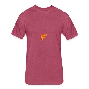 FlameyMC's Logo - Fitted Cotton/Poly T-Shirt by Next Level