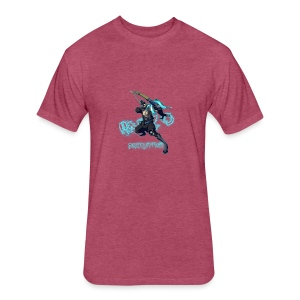 Hanzo Dragonstrike Phun - Fitted Cotton/Poly T-Shirt by Next Level