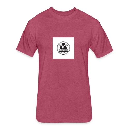 gangster logo design logo free design gangster log - Fitted Cotton/Poly T-Shirt by Next Level