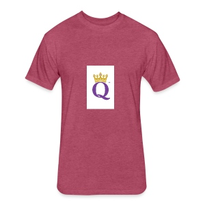 QUEEN CASE - Fitted Cotton/Poly T-Shirt by Next Level
