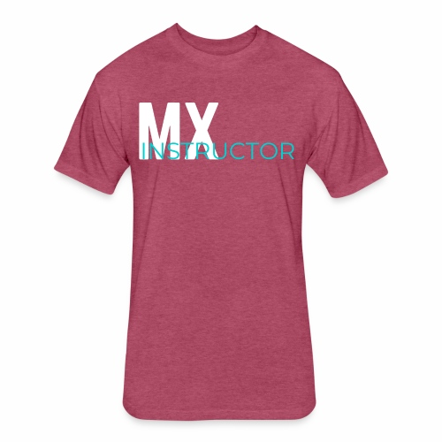 MX Gym Minimal Hat - Fitted Cotton/Poly T-Shirt by Next Level