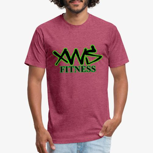 XWS Fitness - Fitted Cotton/Poly T-Shirt by Next Level