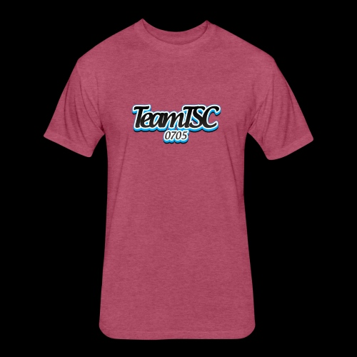TeamTSC dolphin - Fitted Cotton/Poly T-Shirt by Next Level