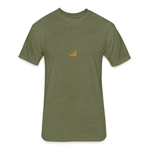 USSR logo - Fitted Cotton/Poly T-Shirt by Next Level