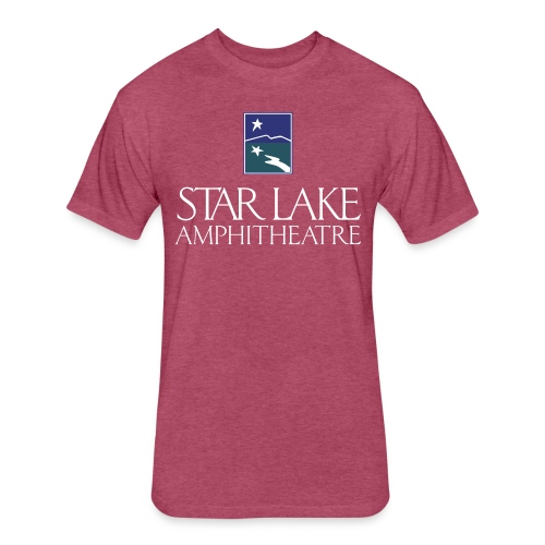 Star Lake on Color - Fitted Cotton/Poly T-Shirt by Next Level