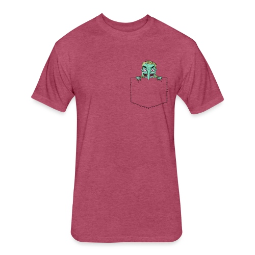Pocket Trolls - Fitted Cotton/Poly T-Shirt by Next Level