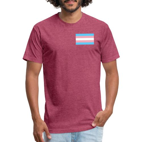 Transgender clothing - Fitted Cotton/Poly T-Shirt by Next Level