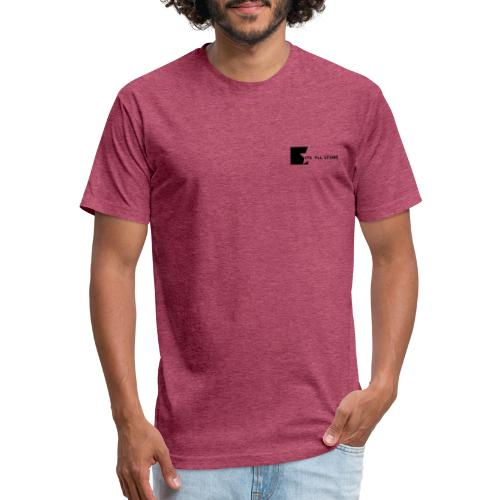 Its All Store logo - Fitted Cotton/Poly T-Shirt by Next Level