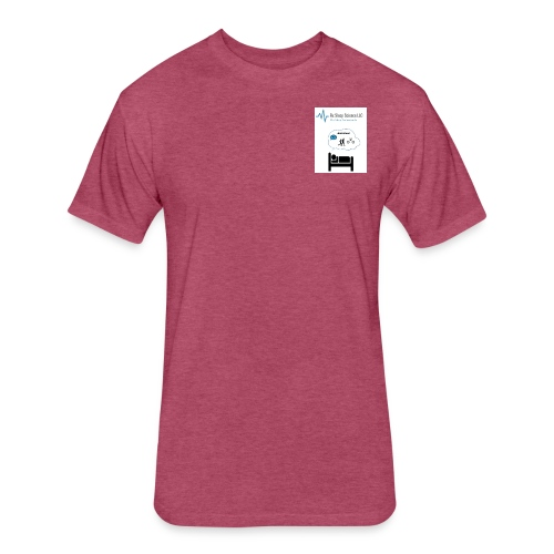 RxSleep Science complete logo - Fitted Cotton/Poly T-Shirt by Next Level
