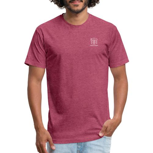 Kids Go Vegan - Fitted Cotton/Poly T-Shirt by Next Level