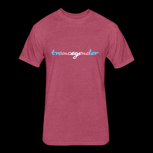 trancegender - Fitted Cotton/Poly T-Shirt by Next Level