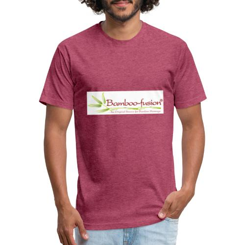 Bamboo-Fusion company - Fitted Cotton/Poly T-Shirt by Next Level