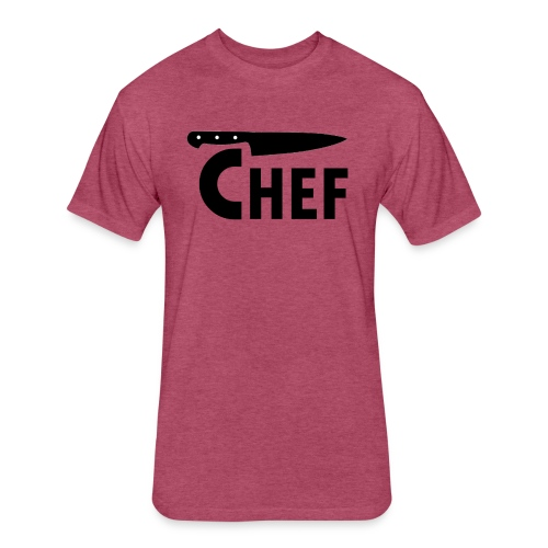 myChef 1 - Fitted Cotton/Poly T-Shirt by Next Level
