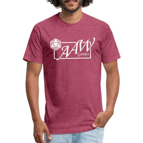 AAW Games - Fitted Cotton/Poly T-Shirt by Next Level