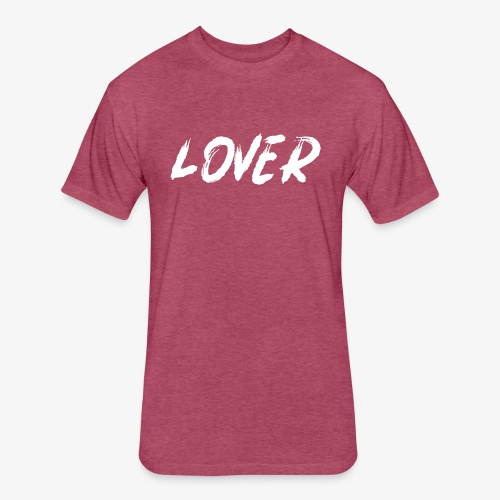 Lover2 - Fitted Cotton/Poly T-Shirt by Next Level