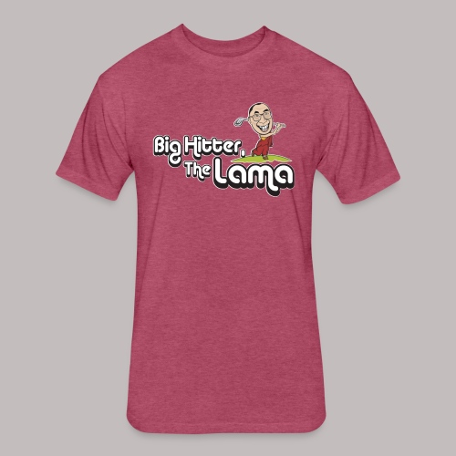 Big Hitter The Lama - Fitted Cotton/Poly T-Shirt by Next Level