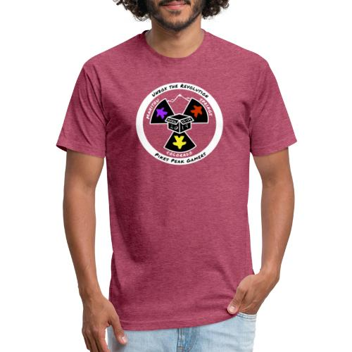 Pikes Peak Gamers Convention 2019 - Clothing - Fitted Cotton/Poly T-Shirt by Next Level