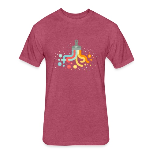 OST design - Fitted Cotton/Poly T-Shirt by Next Level