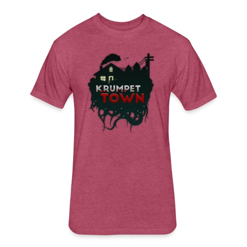 Krumpet Town - Fitted Cotton/Poly T-Shirt by Next Level
