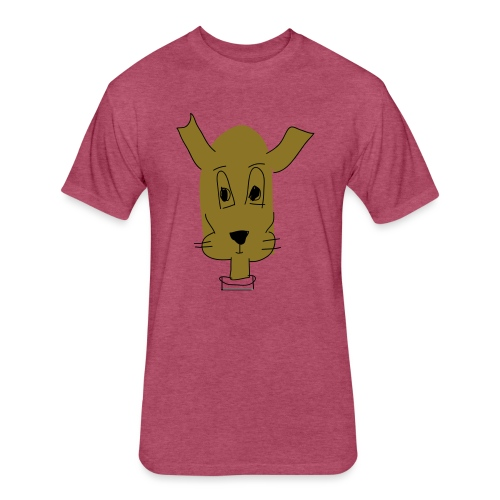 ralph the dog - Fitted Cotton/Poly T-Shirt by Next Level