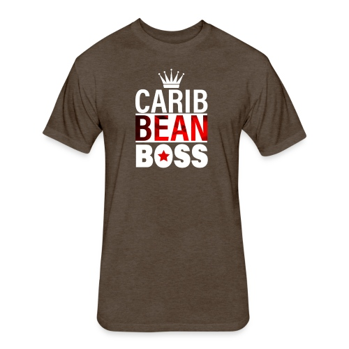 Caribbean Boss - Fitted Cotton/Poly T-Shirt by Next Level