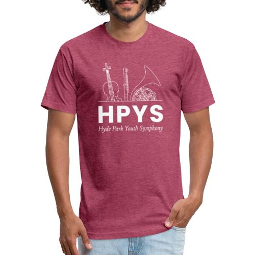 HPYS - Fitted Cotton/Poly T-Shirt by Next Level