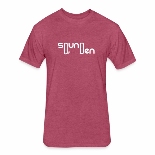 Soundofden The white classical Logo - Fitted Cotton/Poly T-Shirt by Next Level