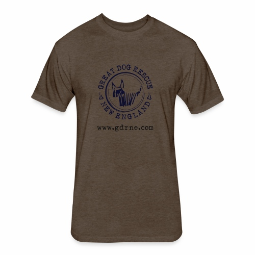 GDRNE Logo - Fitted Cotton/Poly T-Shirt by Next Level