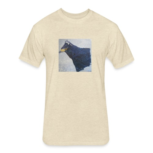 Joder - Fitted Cotton/Poly T-Shirt by Next Level