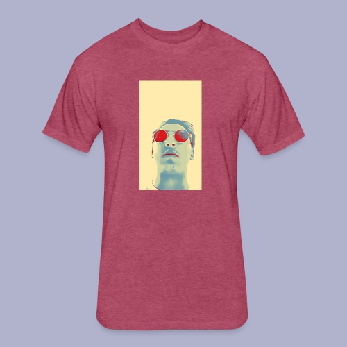 cartoon1571988102617 - Fitted Cotton/Poly T-Shirt by Next Level