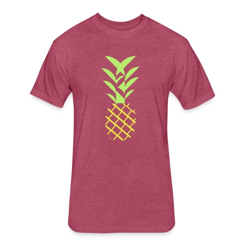 Pineapple flavor - Fitted Cotton/Poly T-Shirt by Next Level