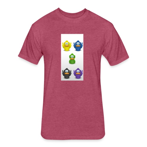 5 adiumys png - Fitted Cotton/Poly T-Shirt by Next Level