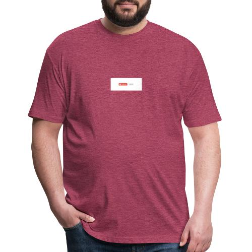 1 Million subscribe - Fitted Cotton/Poly T-Shirt by Next Level