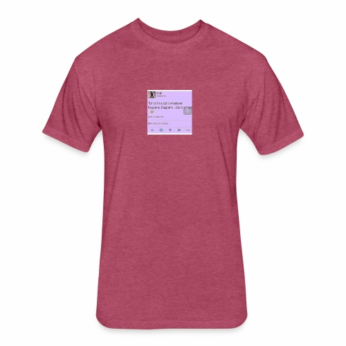 Idc anymore - Fitted Cotton/Poly T-Shirt by Next Level