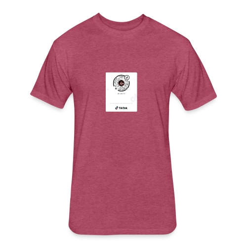 LucasYTmerch - Fitted Cotton/Poly T-Shirt by Next Level