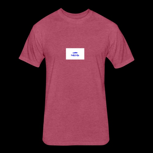 Blue 94th mile - Fitted Cotton/Poly T-Shirt by Next Level