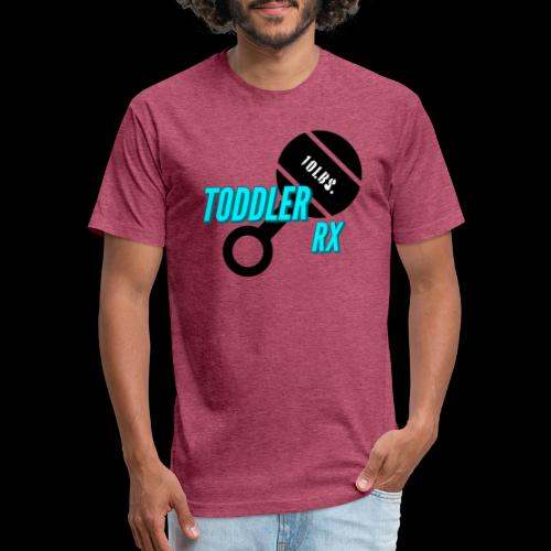 Toddler Rx - Fitted Cotton/Poly T-Shirt by Next Level