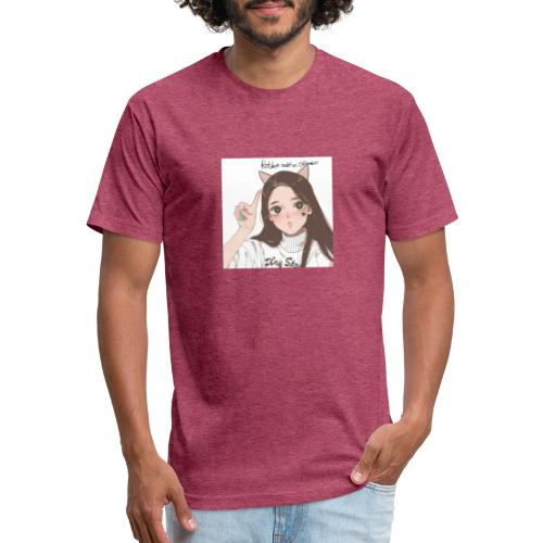 tiktok merch - Fitted Cotton/Poly T-Shirt by Next Level
