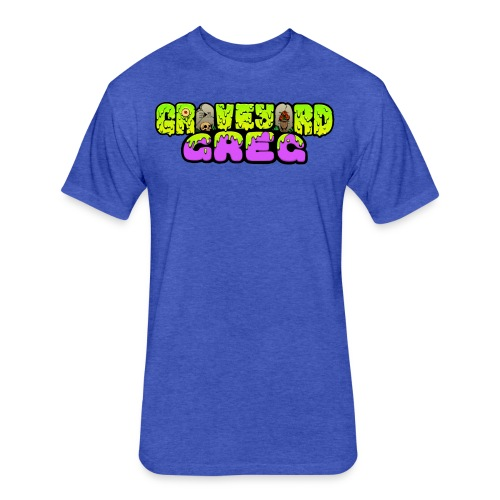 Graveyard Greg Logo! - Fitted Cotton/Poly T-Shirt by Next Level
