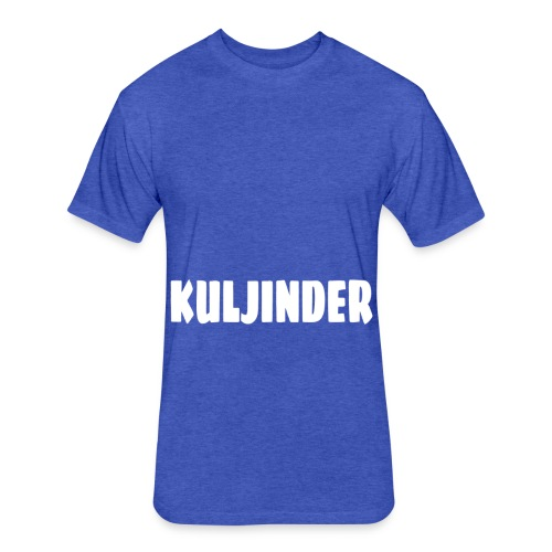KULJINDER - Fitted Cotton/Poly T-Shirt by Next Level