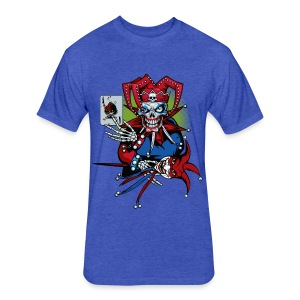 Evil Clown - Fitted Cotton/Poly T-Shirt by Next Level