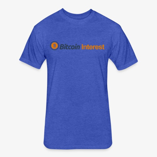 BitcoinInterest - Fitted Cotton/Poly T-Shirt by Next Level