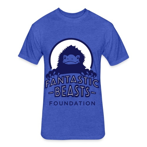 Fantastic Beasts Foundation Logo - Fitted Cotton/Poly T-Shirt by Next Level