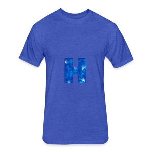 XxHaunter Logo - Fitted Cotton/Poly T-Shirt by Next Level