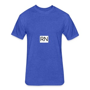 RN_Logo_small - Fitted Cotton/Poly T-Shirt by Next Level