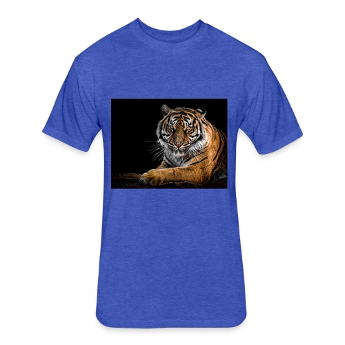 animal animal photography big cat 792381 - Fitted Cotton/Poly T-Shirt by Next Level